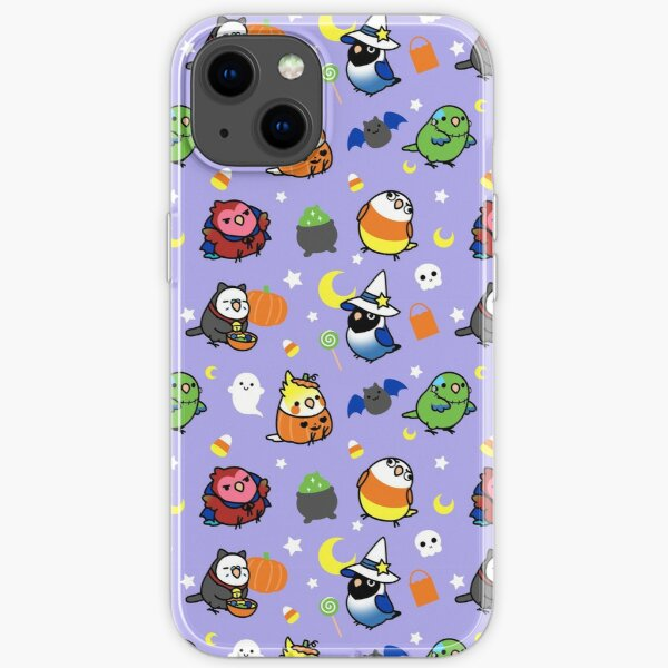 Chubby Bird Halloween Adventures V2 iPhone Soft Case