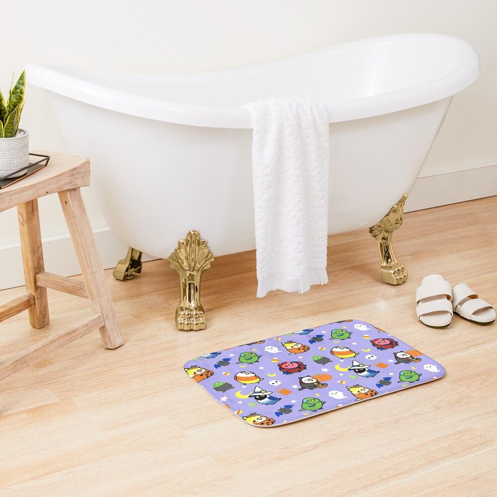 Chubby Bird Halloween Adventures V2 Bath Mat