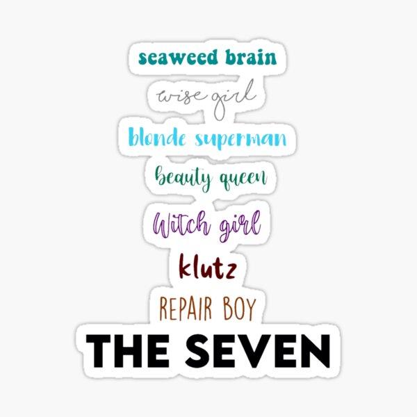 the seven Sticker