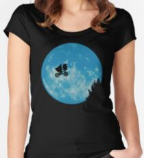 E.T. the Extra-Terrestrial  Women's Fitted Scoop T-Shirt