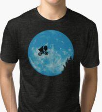 Camiseta de tejido mixto ET el extraterrestre