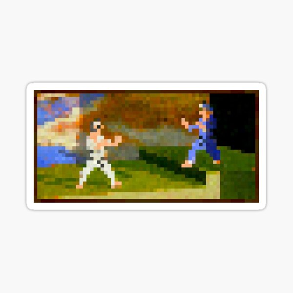 Fighters (with frame) Sticker Sticker
