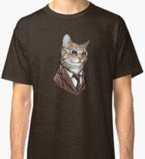 10th Doctor Mew 3D Glasses Classic T-Shirt