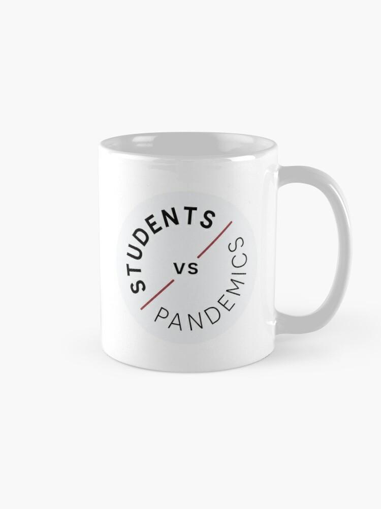 Alternate view of Students vs Pandemics Mug
