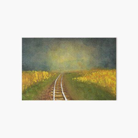 Rainy Prairie  Art Board Print