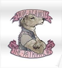 Pups Against the Patriarchy  Poster
