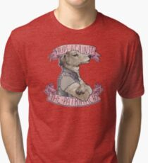 Pups Against the Patriarchy  Tri-blend T-Shirt