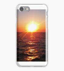 Santorini Sunset iPhone Case/Skin