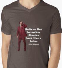 "Anchorman - Ron Bergundy - ""Suits so fine"". . .  T-Shirt"