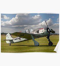 Flug Werk Fw 190A-8N nachbau G-FWAB Poster