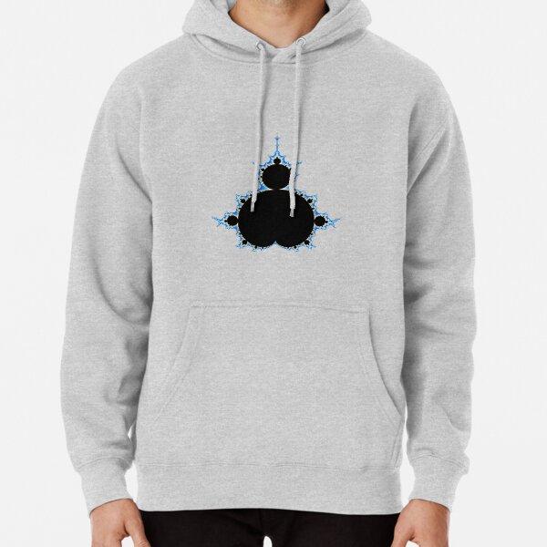 Mandelbrot Fractal Pullover Hoodie