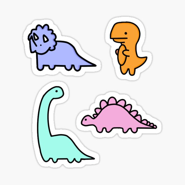 Dino Pack Sticker