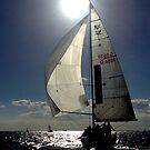 St Kilda twilight sailing by crankster-aus
