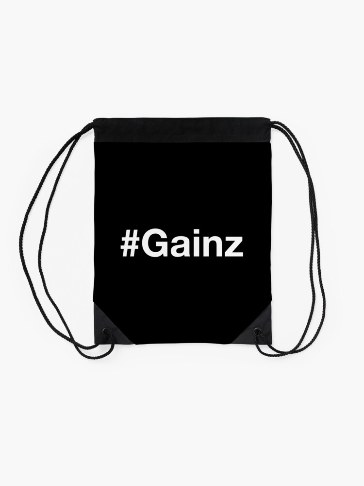 Alternative Ansicht von #Gainz Turnbeutel
