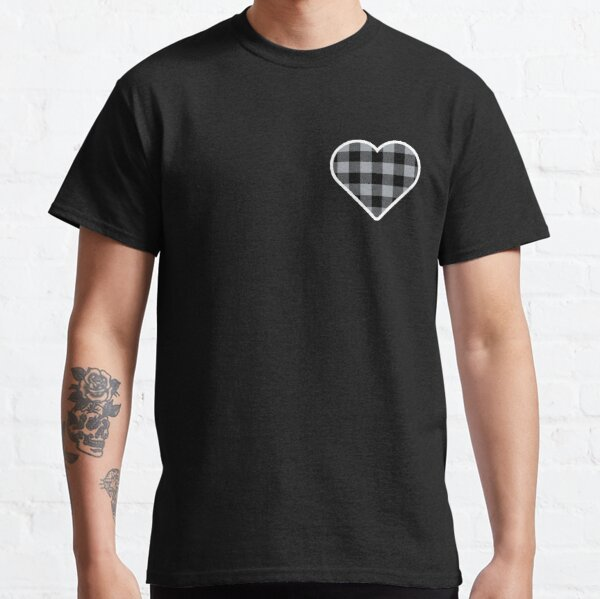 Lumberjack - Grey/Black Classic T-Shirt