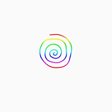 Spiral Rainbow by rescl
