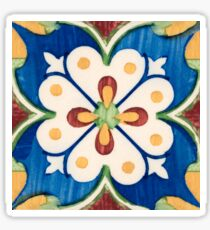 Traditional Portuguese glazed tiles Sticker