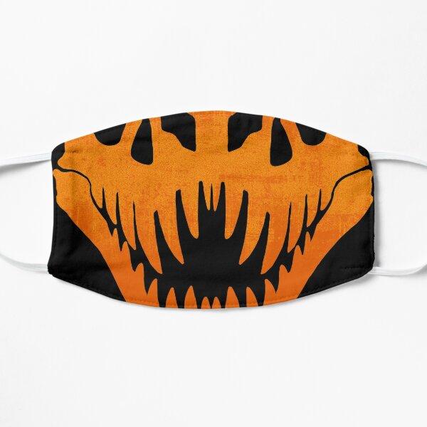 Skull Series: Halloween Orange Flat Mask