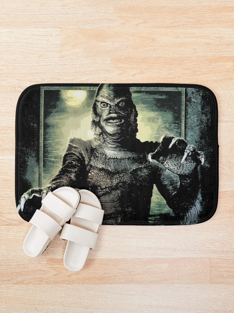 Alternate view of Creature from the Black Lagoon Bath Mat