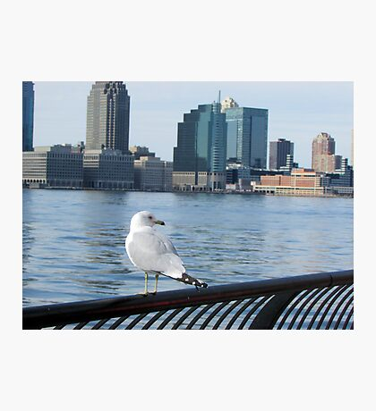 I Can See New Jersey Photographic Print