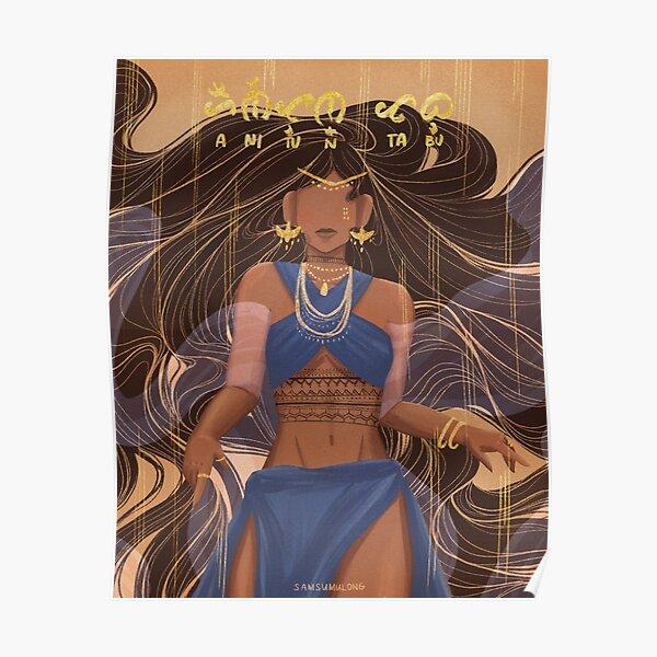 Anitun Tabu | Goddess of Wind and Rain Poster
