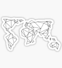 Around the World Sticker