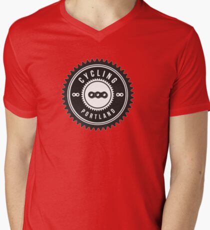 Cycling Portland Black & White T-Shirt