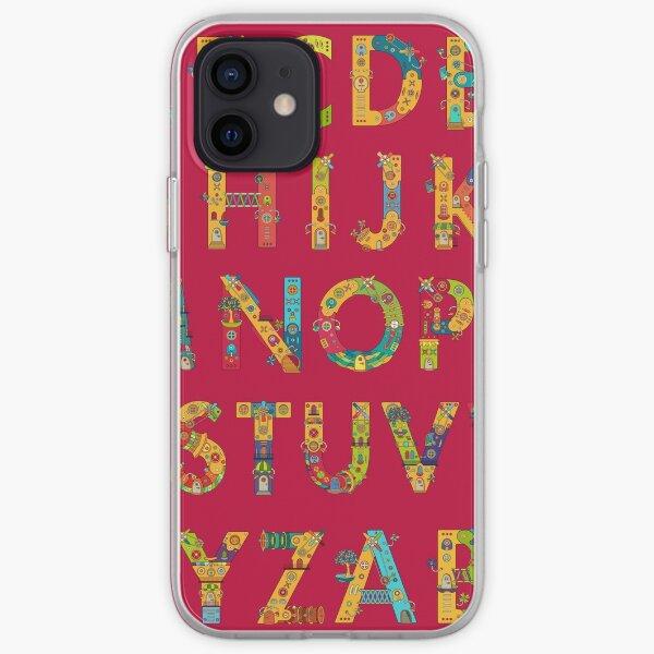 AlphaPod Letters iPhone Soft Case