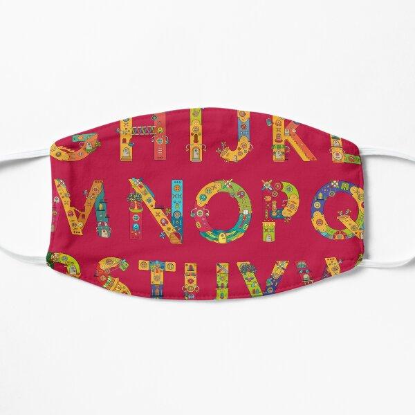 AlphaPod Letters Flat Mask