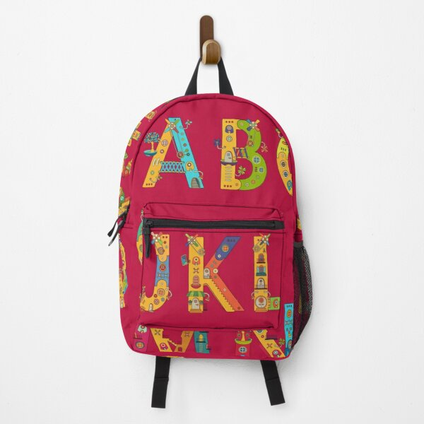 AlphaPod Letters Backpack