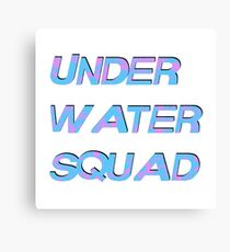 Under Water Squad - It G Ma Canvas Print