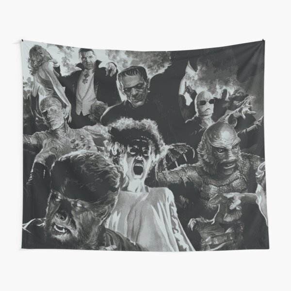 Classic Horror Tapestry