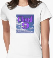 Cloud 9    (Utopia) Womens Fitted T-Shirt