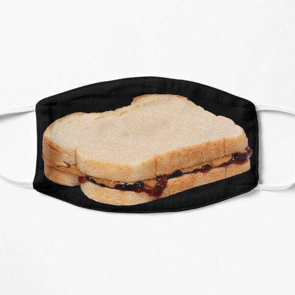 Peanut Butter & Jelly Sandwich Flat Mask