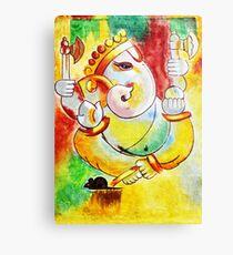 Ganesha painting modern art Ganesha Canvas Print