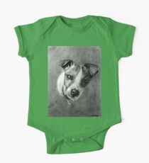 Dog Portrait Commission 1 One Piece - Short Sleeve