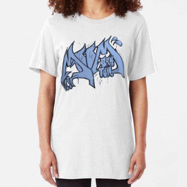 Moombahton Graffiti T Slim Fit T-Shirt