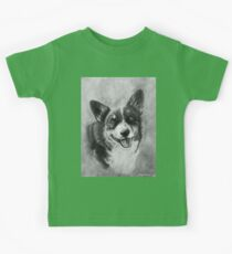 Dog Portrait Commission 2 Kids Tee