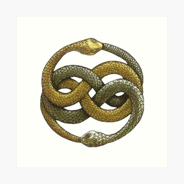 The Neverending Story Atreyu symbol Art Print
