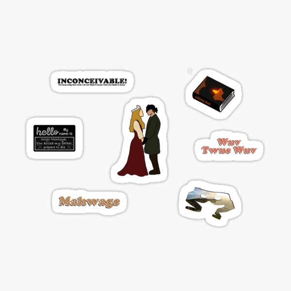 Princess Bride Pack Sticker