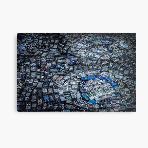 Mobile Phones Metal Print