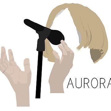 AURORA (Aurora Aksnes) - Minimalistic Print by CongressTart