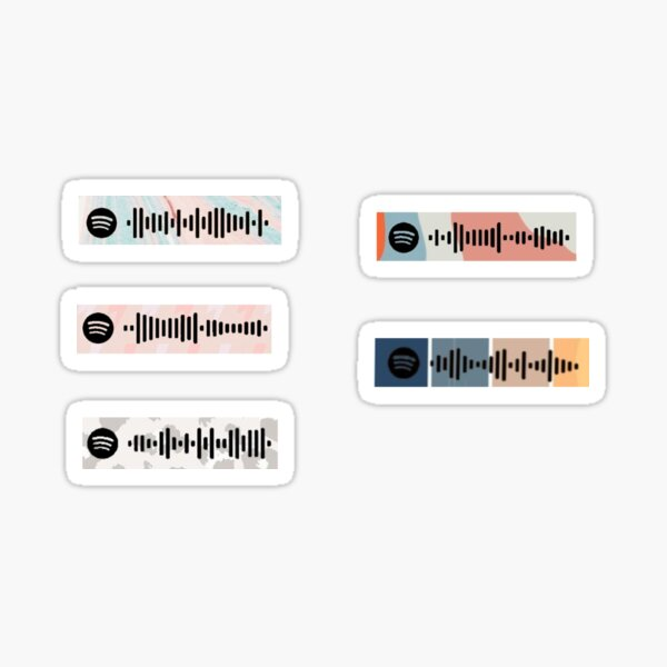 LUKE COMBS SPOTIFY SONG SCANS Sticker