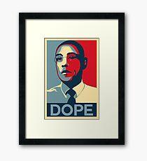 Obama Fring Framed Print