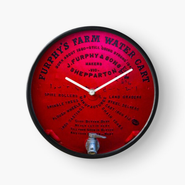 Furphy's Farm Water Cart Clock