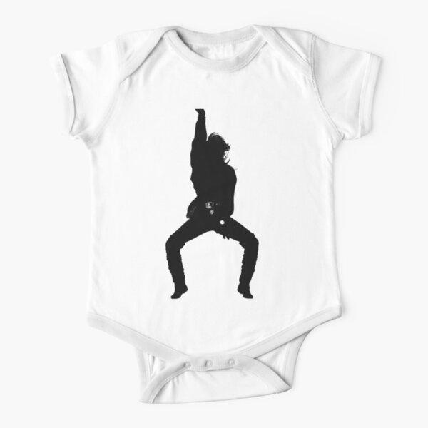 JJ RN BLACKOUT  Short Sleeve Baby One-Piece