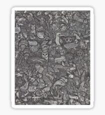 Animalia  Sticker
