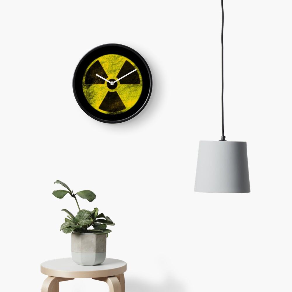 Hazard (Stencil) Clock