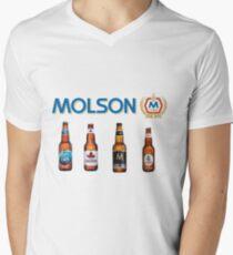 Molson Men's V-Neck T-Shirt