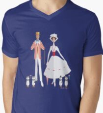 Jolly Holiday Men's V-Neck T-Shirt